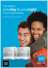 date pola tooth whitening poster