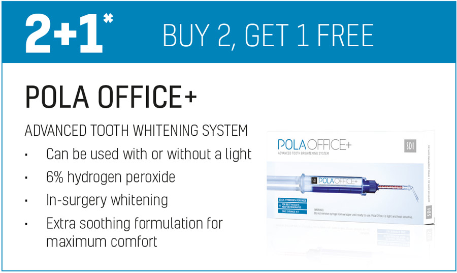 POLA OFFICE+ buy 2 get 1 free offer