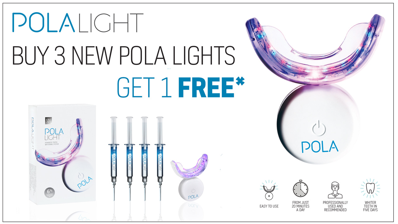 Buy 3 new Pola Lights and get 1 free
